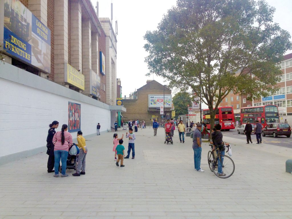 Southall Market by DK-CM, part of the Southall Great Streets scheme_2014